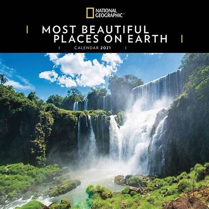 Most Geographic National Places Calendar Earth Calendrier