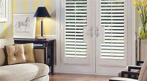 French Door Treatments - Contemporary - Vertical Blinds