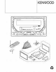 Service Manual For Kenwood Dpx-mp4070
