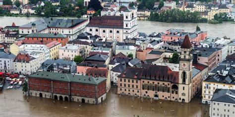 Fuertes Inundaciones En Europa Central Por Lluvias