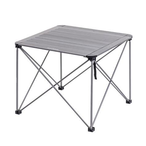 aluminum portable folding table portable aluminum folding table l naturehike