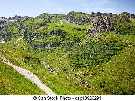 Direction Signs Alpine Hikes Alps Switzerland Stock Photo Stock Photographs Of Hiking In Swiss Alps Hiking In The