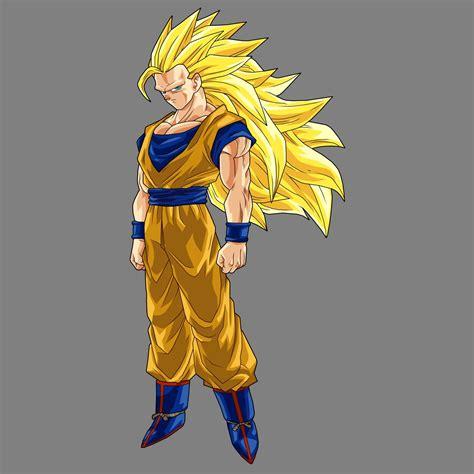 Goku Ssj3 V1 By Drozdoo On Deviantart