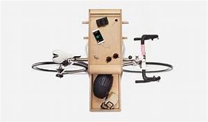 Meuble Vide Poche : bike butler le meuble vide poche pour les cyclistes ~ Teatrodelosmanantiales.com Idées de Décoration