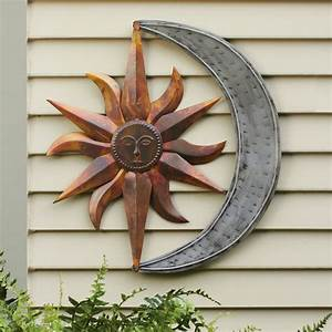 Wall art designs outdoor metal star
