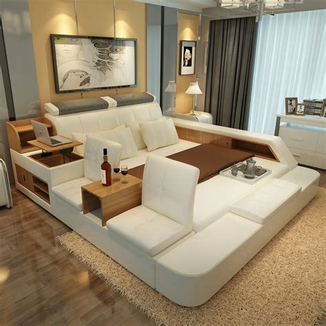Bed And Chair Set by Bedroom Furniture Sets Modern Leather Size Storage