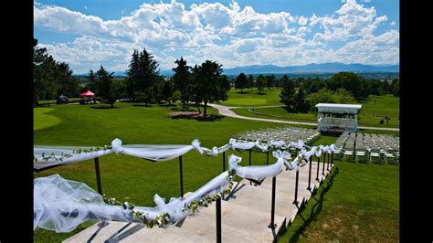 denver golf  wedding venue  ranch country club