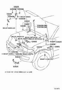 2003 Toyota 4runner Hood Latch - 5351060160