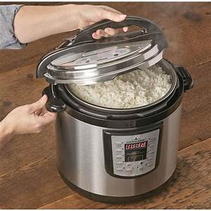 Castlecreek Electric Pressure Cooker  10 5 Quart