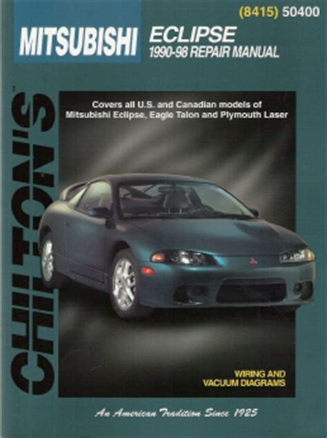car maintenance manuals 1991 plymouth laser windshield wipe control 1990 1998 mitsubishi eclipse eagle talon and plymouth laser chilto manual