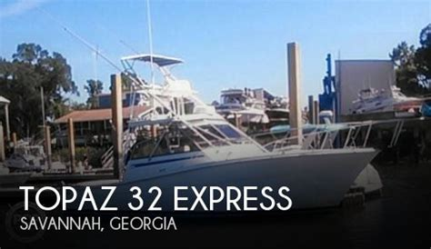 Xpress Boat Dealers In Georgia by For Sale Used 1989 Topaz 32 Express In Savannah Georgia