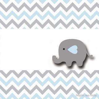 elefante bebe en celeste  gris invitaciones  etiquetas