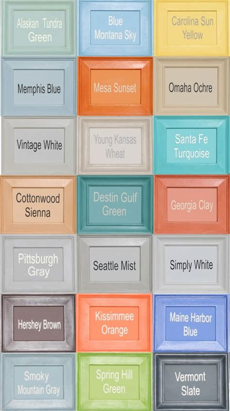 americana chalk paint colors would be more awesome to
