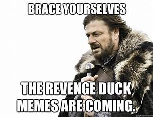 Brace yourselves The Revenge Duck memes are coming. - Misc ...