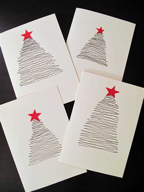 diy christmas cards 34 adorable diy christmas postcard ideas amazing diy interior home design