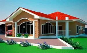 House plans ghana 3 4 5 6 bedroom house plans in ghana for Sample building plans in ghana