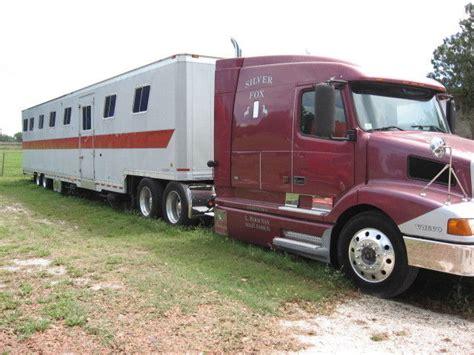 horse van  volvo   kentucky trailer