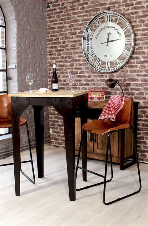 cuisine conviviale bar style bistrot pour une cuisine vintage et conviviale