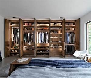 Luxury Solid Wood Wardrobe Interiors - Bedroom Furniture
