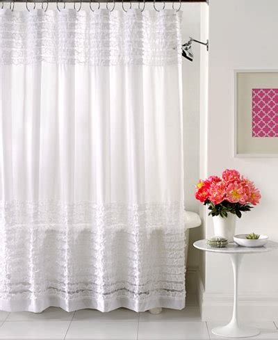 sheer fabric shower curtain creative bath accessories sheer ruffles shower curtain