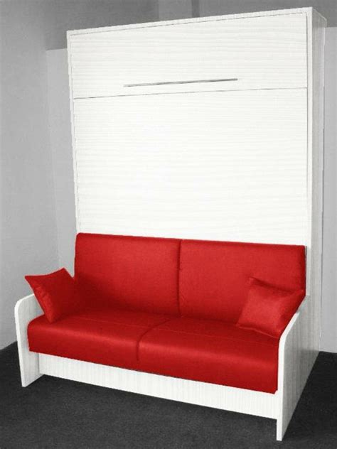 canapé avec pouf intégré l 39 armoire lit escamotable pour plus d 39 espace archzine fr