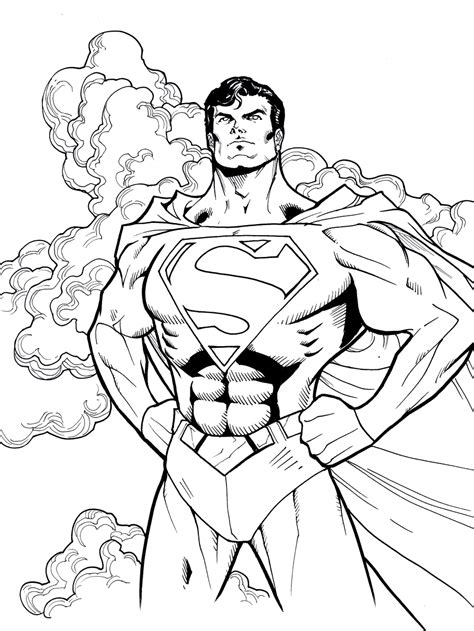 lego superman coloring pages    print