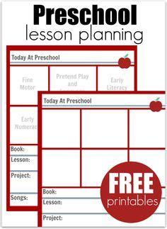 blank preschool weekly lesson plan template