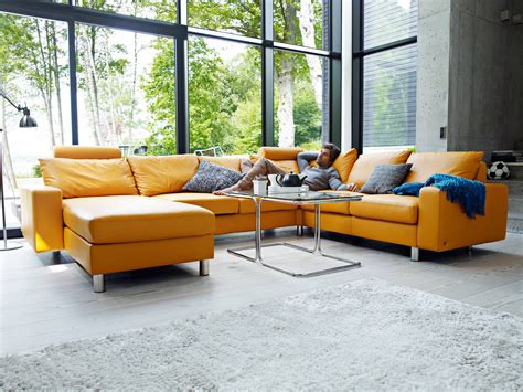 Leather Sofa With Recliner by Home Theater Seating And Sectionals By Stressless Unwind Com