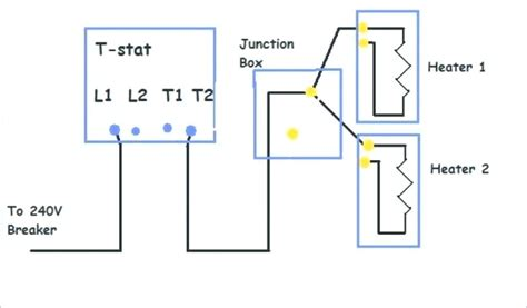 Wiring Diagram For Volt Baseboard Heater