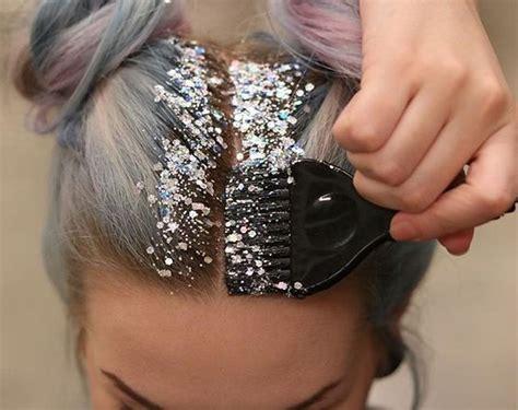 glitterage  hottest hair trend   threads