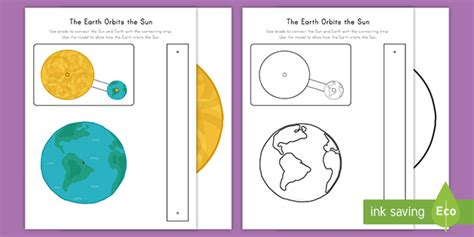 The Earth Orbits the Sun Functional Model Activity