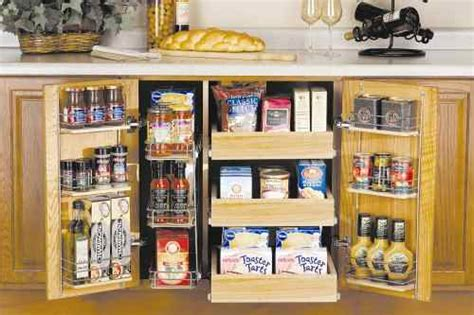 Kitchen Cabinet Organizers  Organizing Solutions In
