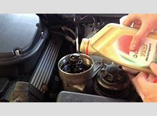 How To E39 M5 Oil Change YouTube