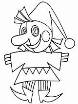 Jester Coloring Pages Print sketch template