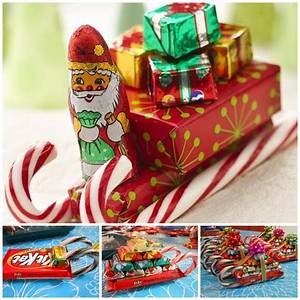 Wonderful DIY Sweet Chocolate Christmas Tree Gift