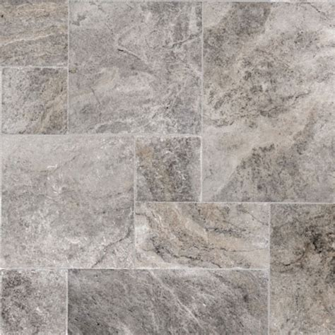 Silver Travertine Tiles   Silver Travertine Pavers