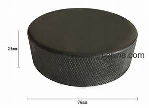China Ice Hockey Puck Professional Nature Rubber