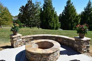 Charlotte, Screen, Porch, U0026, Patio, With, Stone, Fire, Pit
