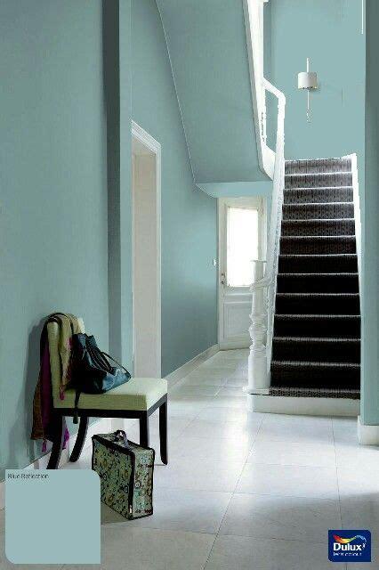 dulux blue reflection home decor   hallway paint