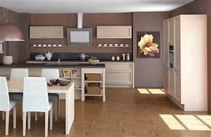 cuisines amenagees modeles cuisine en image With modeles de cuisines amenagees