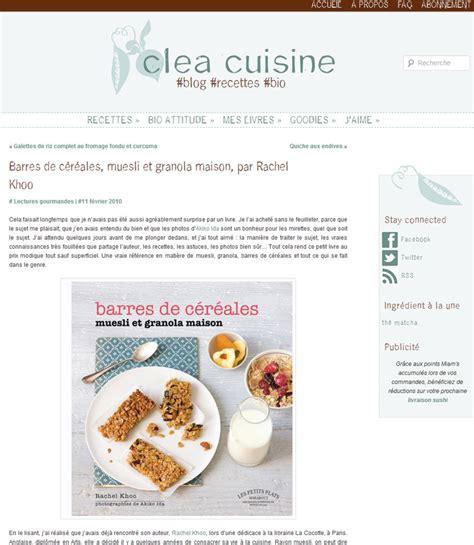 cuisine clea granola archives khoo