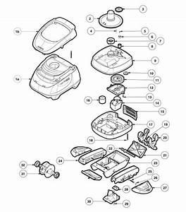 Hayward 925 Series Navigator Pro Replacement Parts