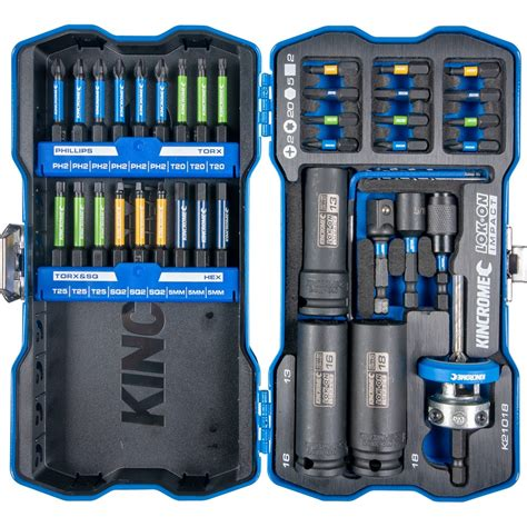 kincrome impact bit piece deck screwdrivers drivers