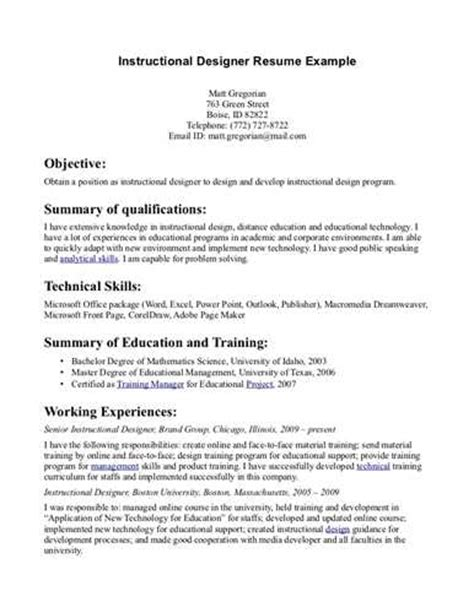 Instructional Designer Resume Example. Resume Templte. Facility Executive Resume. Cisco Engineer Resume. Emailing Resume What To Say. Oilfield Resume. Resume For Ba Student. Modify Resume. Easy Simple Resume Template