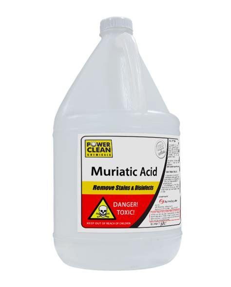 muriatic acid housekeeping basic cleaning chemicals floor cleaners powerclean
