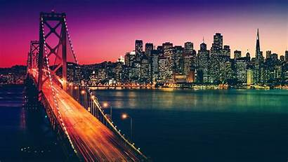 San Cityscape 4k Francisco California Wallpapers Backgrounds