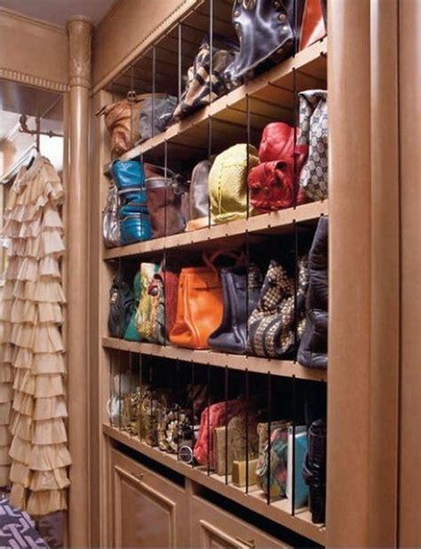 Purse Closet by Practical Storage Ideas For Handbags
