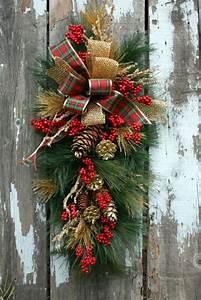 Weihnachtskranz Für Tür : 1001 ideen neue weihnachtsgestecke selber machen ~ Bigdaddyawards.com Haus und Dekorationen