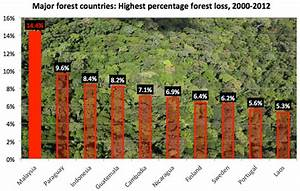 Malaysia has the world's highest deforestation rate ...