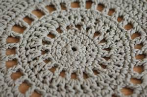 Tapis Au Crochet Tuto by Tuto Crochet Tapis 2